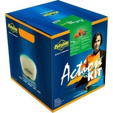Putoline Action Kit Bio Complete Off Road Motorbike Foam Air Filter Service Kit